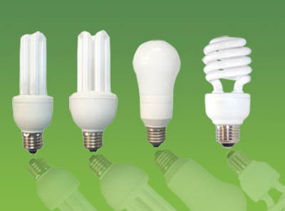 Types of CFL bulbs