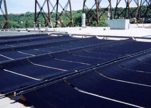 Unglazed Solar Collector